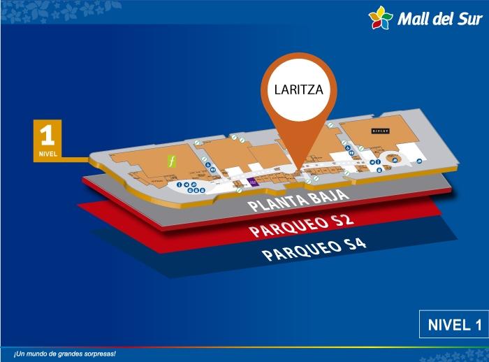 Laritza'd - Mapa de Ubicación - Mall del Sur