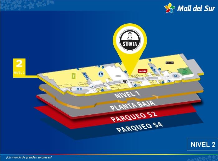 Strata - Mapa de Ubicación - Mall del Sur