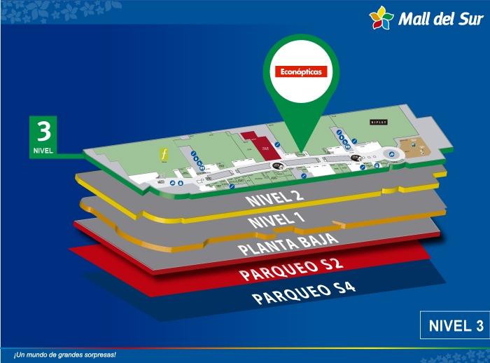 Econópticas - Mapa de Ubicación - Mall del Sur