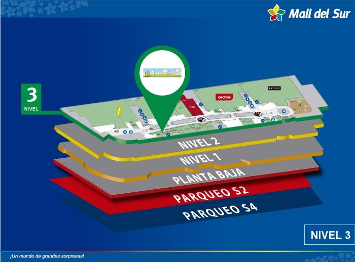 Hormiguita - Mapa de Ubicación - Mall del Sur