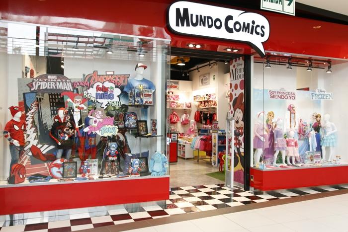 Mundo Comics - Mall del Sur
