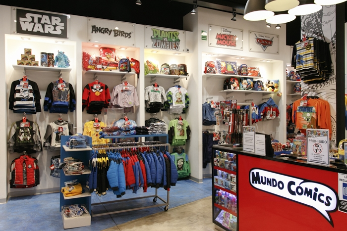 Mundo Comics - Mall del Sur