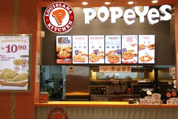 Popeyes - Mall del Sur