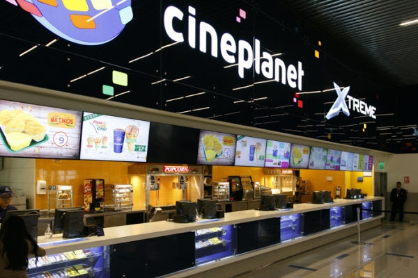 cineplanet - Plaza Norte