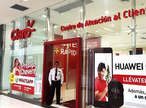 CLARO - Centro de Atención al Cliente - Plaza Norte
