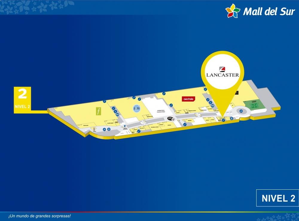 Lancaster - Mapa de Ubicación - Mall del Sur