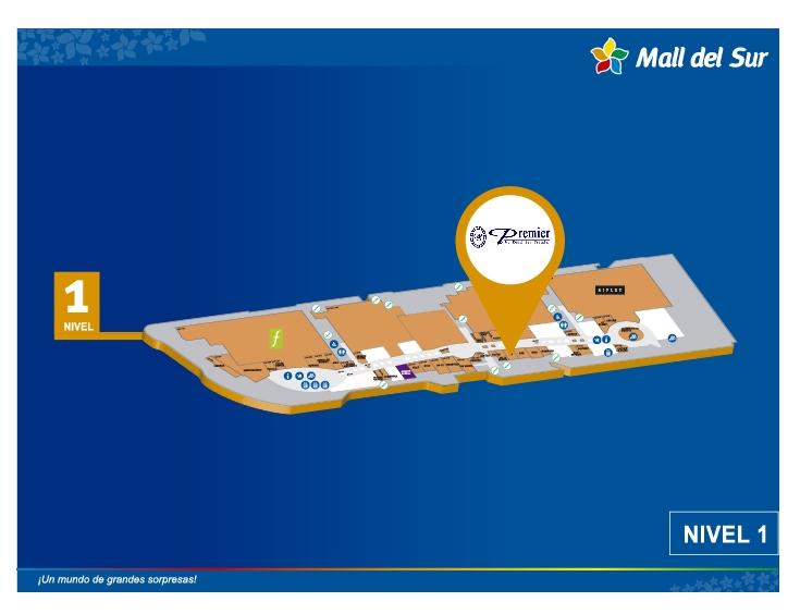 Dead Sea Premier - Mapa de Ubicación - Mall del Sur