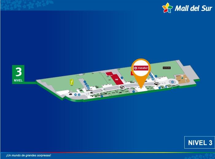 PARAÍSO - Mapa de Ubicación - Mall del Sur