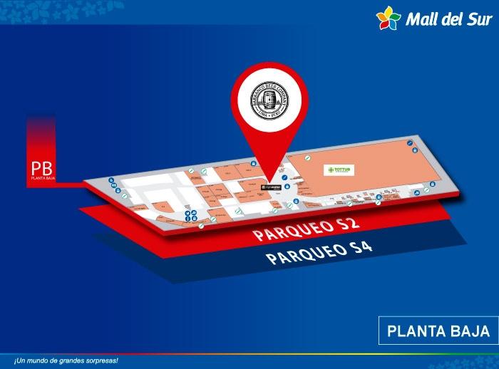 Barranco Beer Company - Mapa de Ubicación - Mall del Sur