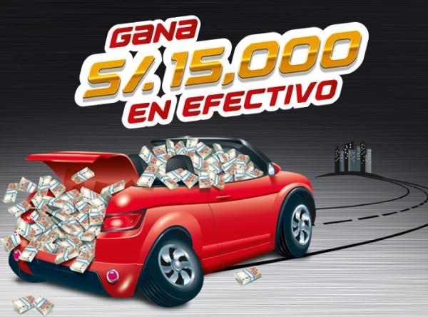 Gana S/.15,000 en Expomotor - Plaza Norte