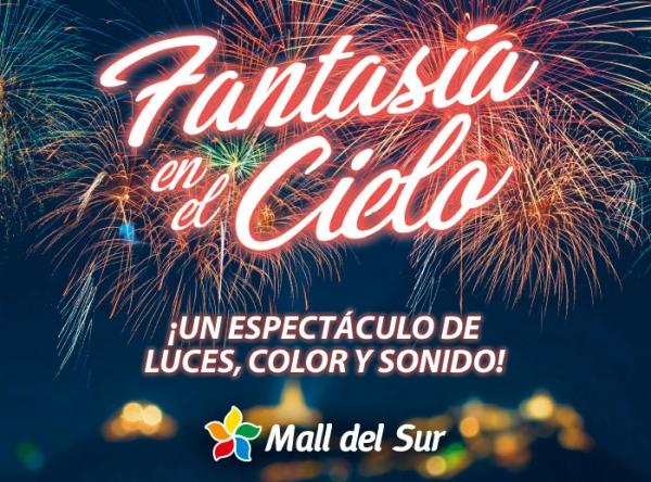 Fantasía en el Cielo - Mall del Sur