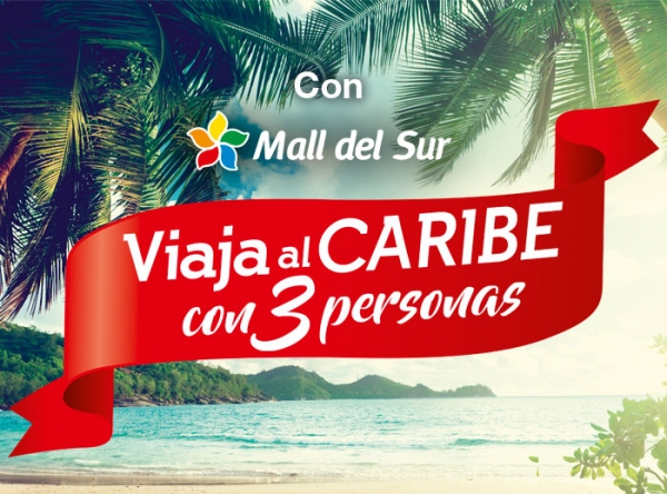 ¡Viaja al Caribe con 3 personas! - Mall del Sur
