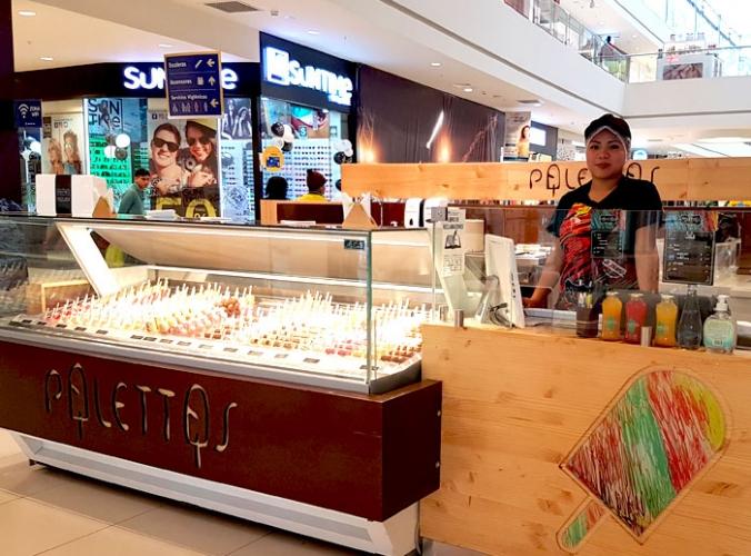 Palettas - Mall del Sur