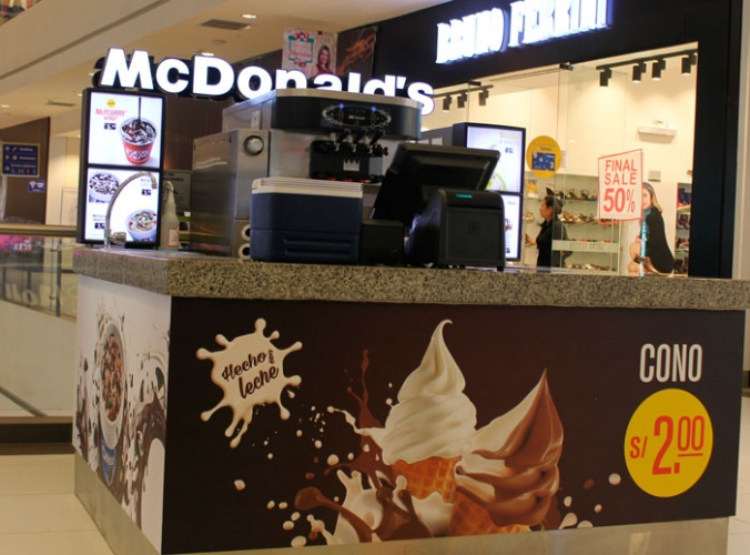 Mc Donalds - Mall del Sur
