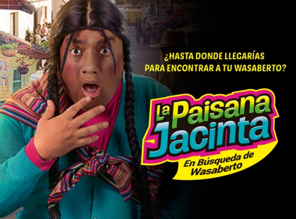 Gana entradas dobles para la Paisana Jacinta  - Plaza Norte