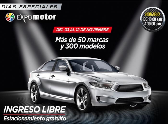 """Días Especiales Expomotor presenta """"Tu Gratis sobre ruedas"""" - Mall del Sur"""