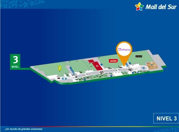 ESSENTIEL - Mapa de Ubicación - Mall del Sur