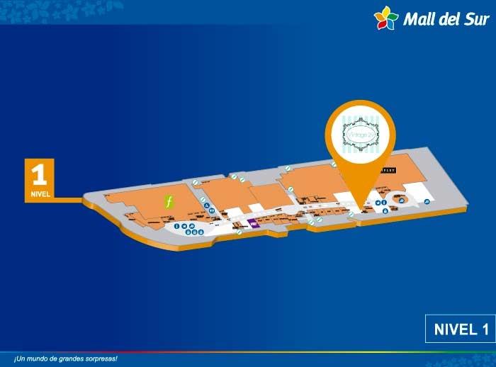 VINTAGE 29 - Mapa de Ubicación - Mall del Sur