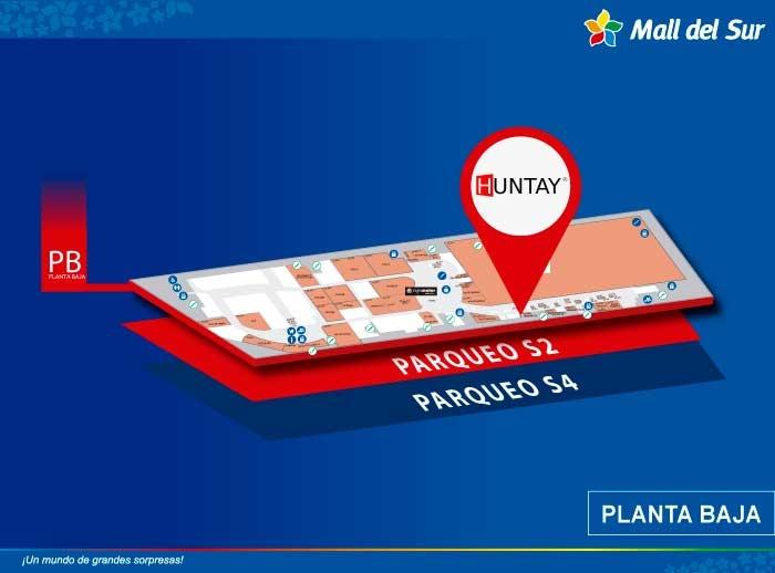 huntay - Mapa de Ubicación - Mall del Sur