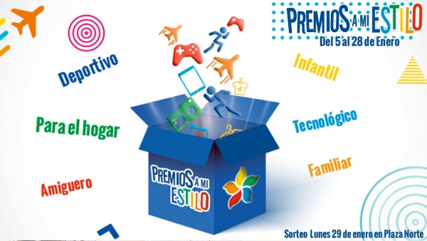 PREMIOS A MI ESTILO - Mall del Sur