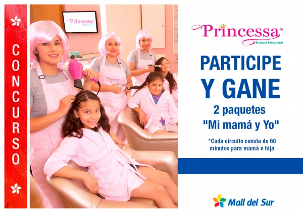 Concurso princesas - Plaza Norte
