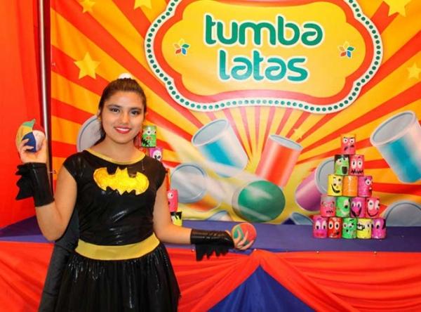 ¡Juegos de feria!: Tumba Latas - Mall del Sur