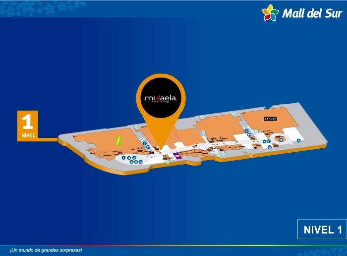 Mikaela - Mapa de Ubicación - Mall del Sur