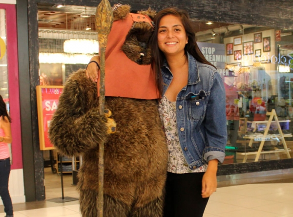 Ewok en Mall del Sur - Plaza Norte