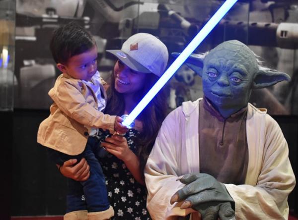 Tómate una foto con Ewok y Yoda - Plaza Norte