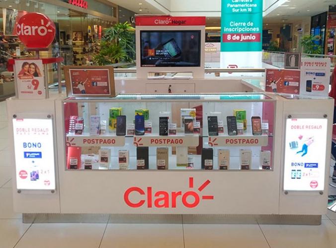 CLARO  - Mall del Sur
