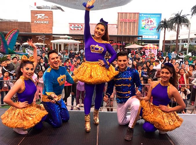 SHOW INFANTIL DE TORNASOL KIDS - Mall del Sur