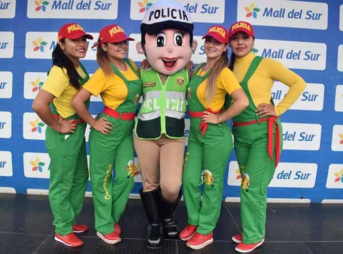 SHOW INFANTIL DE LA POLICÍA NACIONAL DEL PERÚ - Mall del Sur