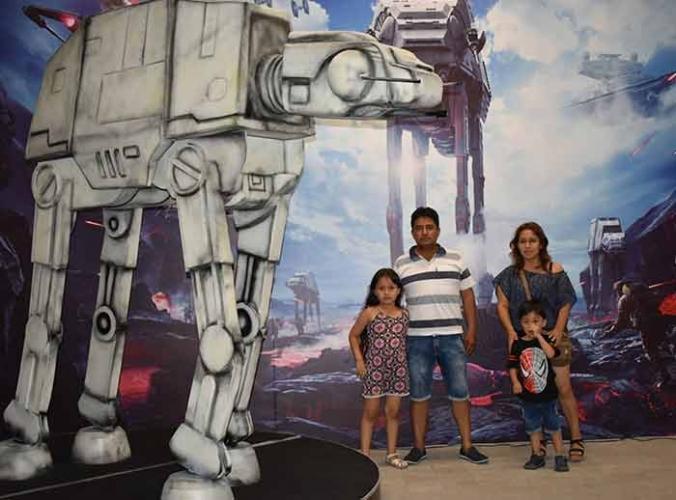 Exhibición de Star Wars - Mall del Sur