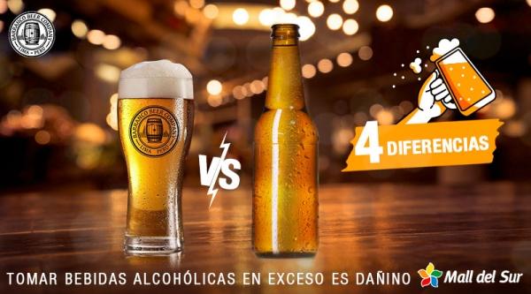 Beneficios de la cerveza artesanal - Mall del Sur