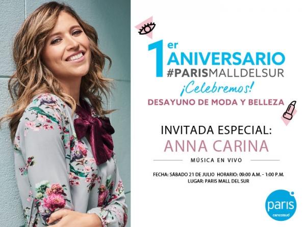 1er Aniversario de Paris en Mall del Sur  - Mall del Sur