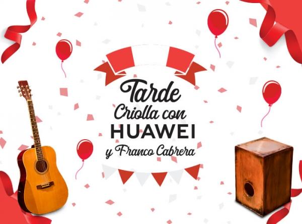Tarde Criolla con Huawei y Franco Cabrera - Mall del Sur