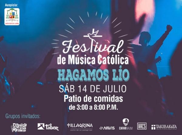 Festival de música Católica - Plaza Norte
