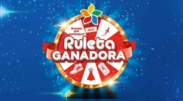 Ruleta Ganadora - Mall del Sur
