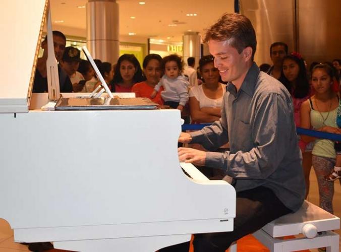 Show musical de piano - Mall del Sur