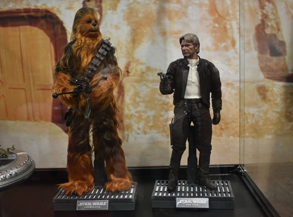 Exhibición de Star Wars - Mall del Sur