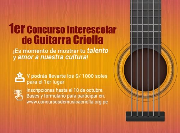1er Concurso de Guitarra - Mall del Sur