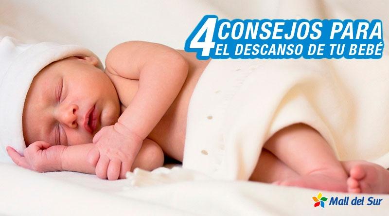 4 consejos para que el sueño de tu bebé sea placentero - Mall del Sur