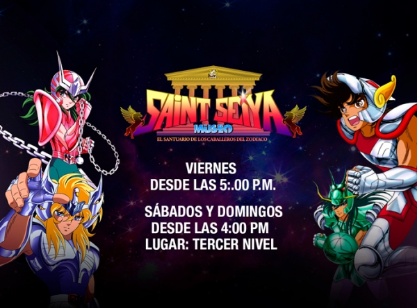 COSPLAY DE SAINT SEIYA - Plaza Norte