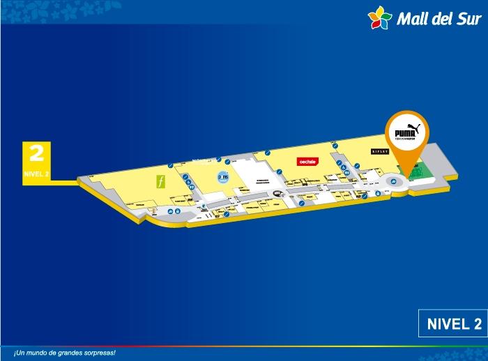 PUMA - Mapa de Ubicación - Mall del Sur