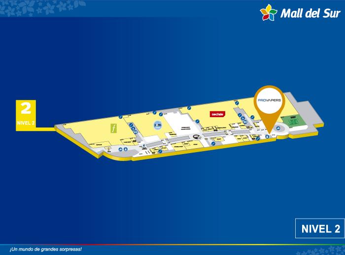 PROVAPERS - Mapa de Ubicación - Mall del Sur