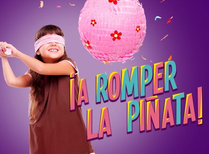 A romper la piñata  - Mall del Sur