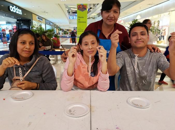 TALLER DE BISUTERÍA PARA ADULTOS - Mall del Sur
