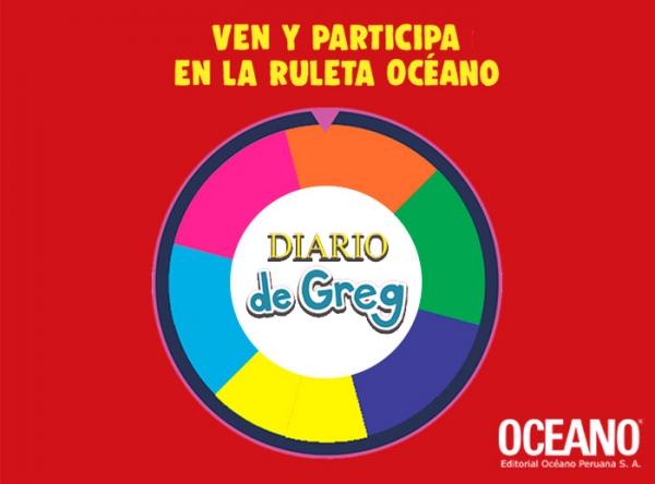 RULETA OCÉANO - DIARIO DE GREG - Mall del Sur