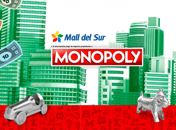 ACTIVACIÓN MONOPOLY - Mall del Sur
