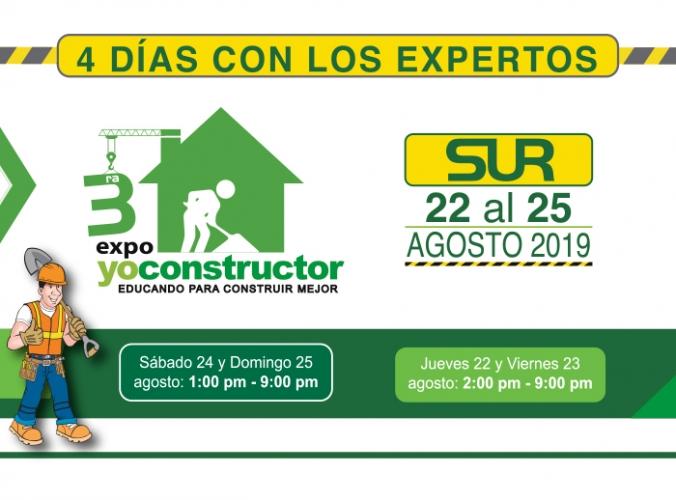 3ERA EXPO YO CONSTRUCTOR - Mall del Sur